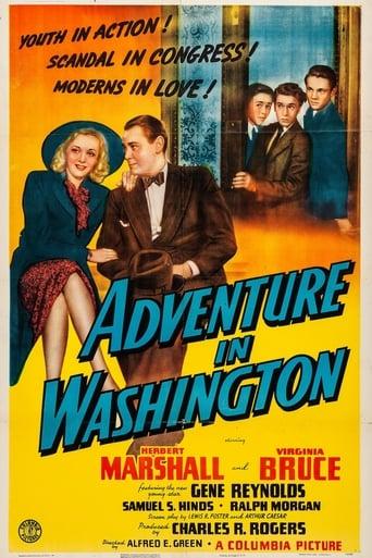Poster of Adventure in Washington