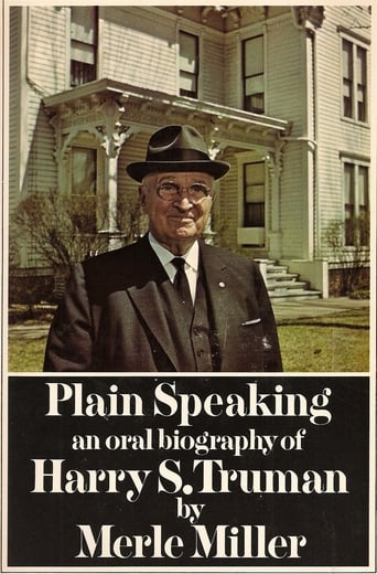 Poster of Harry S. Truman: Plain Speaking