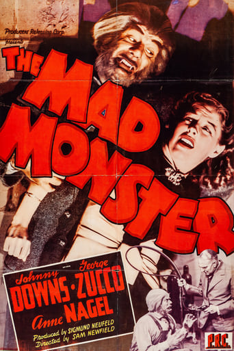 Poster of The Mad Monster