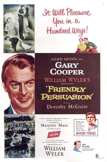 Poster of Friendly Persuasion