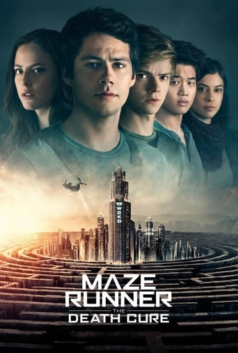 Official movie poster for Maze Runner: The Death Cure (2018)
