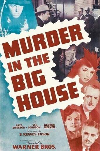 Poster of Murder in the Big House