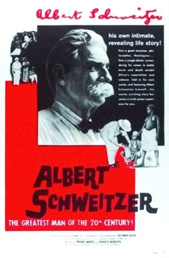 Poster of Albert Schweitzer