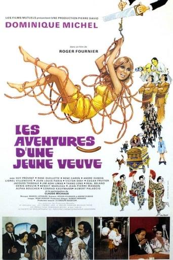 Poster of Les aventures d'une jeune veuve