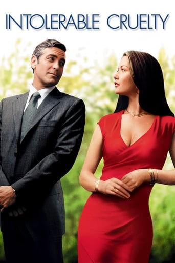 Official movie poster for Intolerable Cruelty (2003)