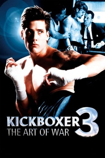 Poster of Kickboxer 3: The Art of War