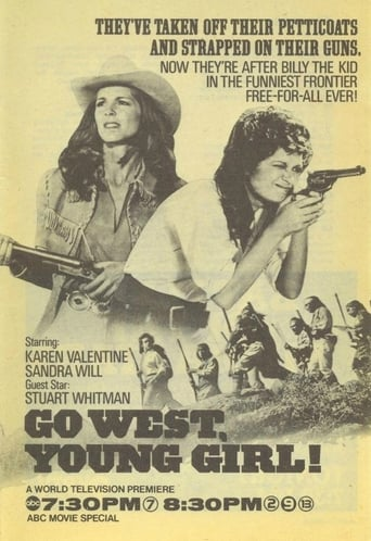 Poster of Go West, Young Girl