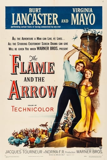 'The Flame and the Arrow (1950)