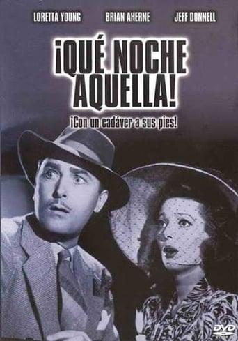 Poster of ¡Qué noche aquella!