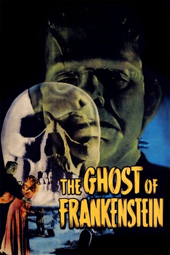 Poster of The Ghost of Frankenstein