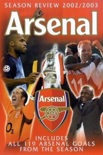 Watch Arsenal: Season Review 2002-2003 Online Free Putlocker