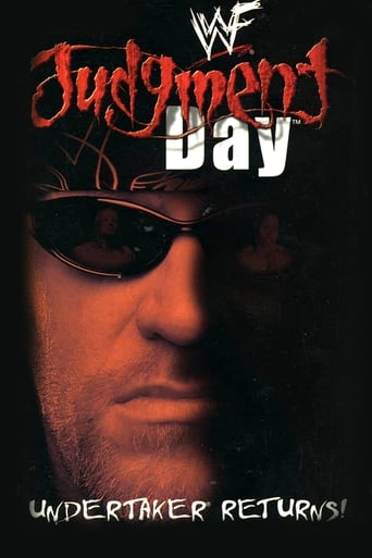Poster of WWE Judgment Day 2000