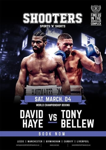 Poster of David Haye vs. Tony Bellew