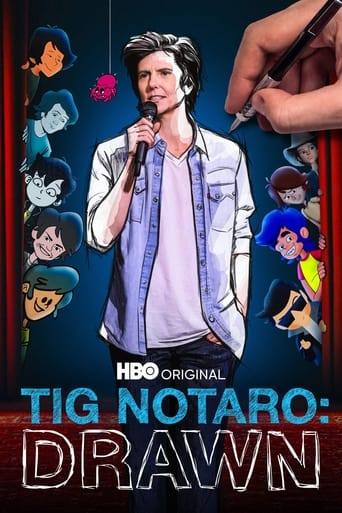 Tig Notaro: Drawn Poster