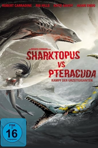Poster of Sharktopus vs. Pteracuda