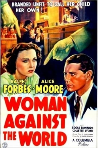 Poster of Woman Against the World