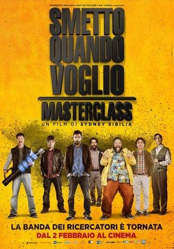 Poster of Smetto quando voglio: Masterclass fragman
