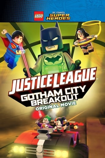 Poster of LEGO DC Comics Super Heroes: Justice League - Gotham City Breakout
