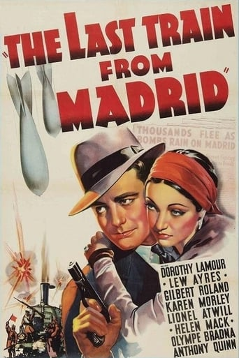 Poster of The Last Train from Madrid