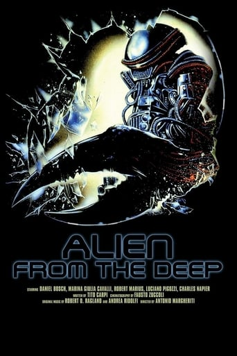 Poster of Alien from the Deep