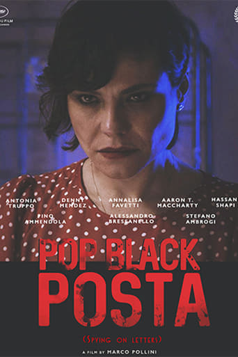 Poster of Pop Black Posta