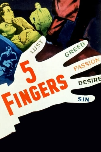 Watch 5 Fingers full movie online 1337x