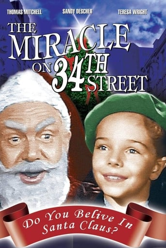 Poster of The Miracle on 34th Street