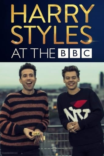 Poster of Harry Styles at the BBC