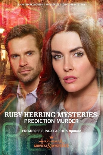 Ruby Herring Mysteries: Prediction Murder Poster
