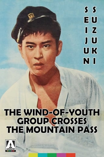 Poster of The Wind-of-Youth Group Crosses the Mountain Pass