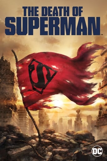 The The Death of Superman (2018) movie poster image