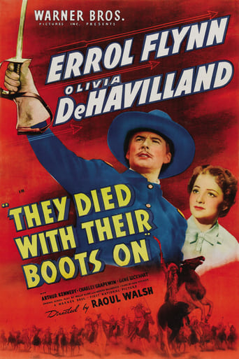 Poster of They Died with Their Boots On
