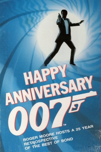 Poster of Happy Anniversary 007: 25 Years of James Bond