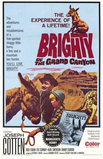 Poster of Brighty of the Grand Canyon