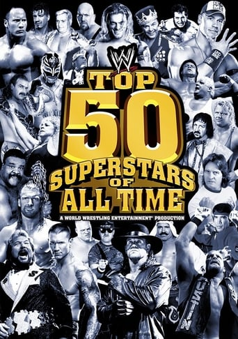 Poster of WWE: Top 50 Superstars of All Time