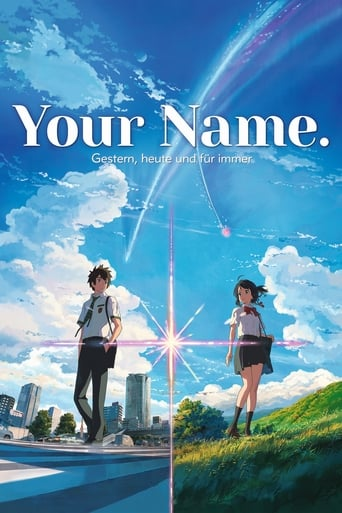 Filmplakat von Your Name. - Gestern, heute und für immer