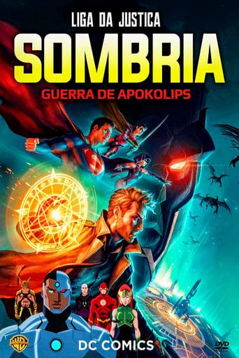 Liga da Justiça Sombria Guerra de Apokolips - Poster