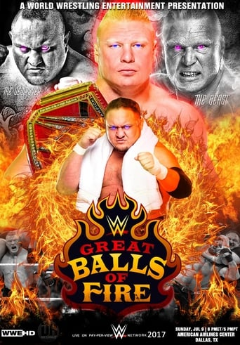 Poster of WWE Great Balls of Fire 2017