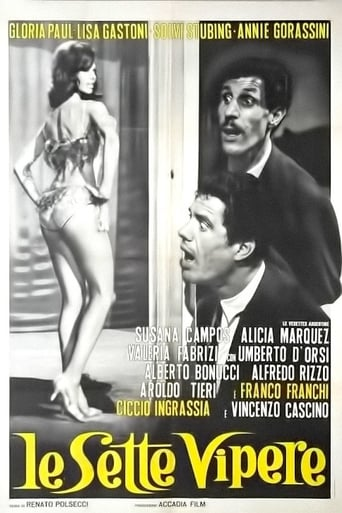 Poster of Le sette vipere (Il marito latino)