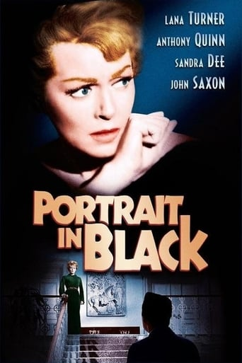 Portrait in Black Movie Poster