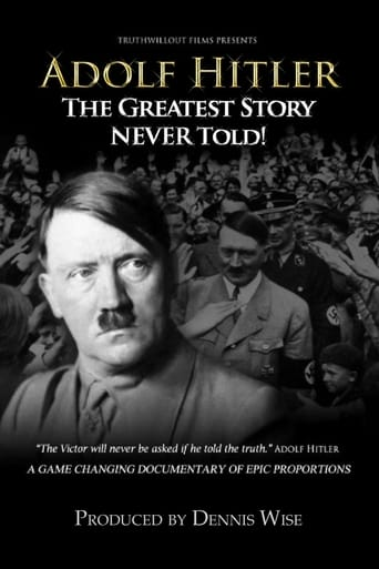 Poster of Adolf Hitler: The Greatest Story Never Told
