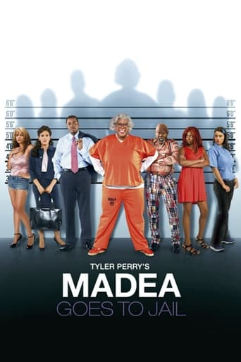 Poster of Madea Goes to Jail