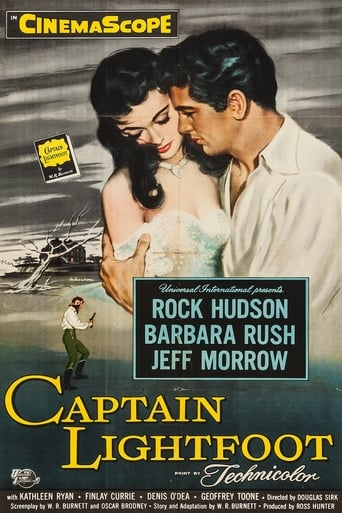 Captain Lightfoot (1955) - poster
