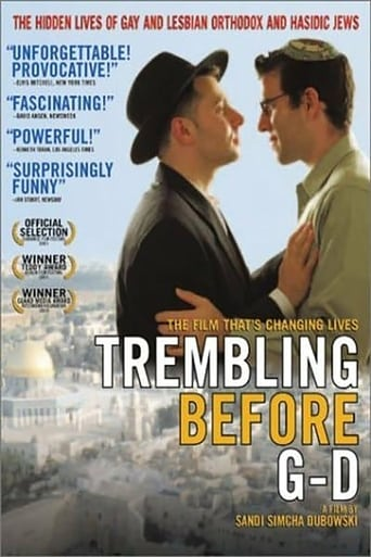 Trembling Before G-d poster