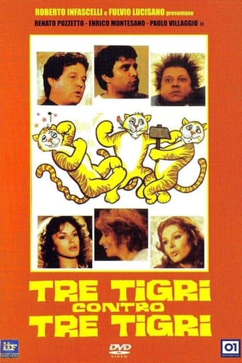 Poster of Three Tigers Against Three Tigers