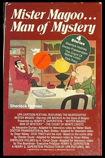 Poster of Mr. Magoo, Man of Mystery