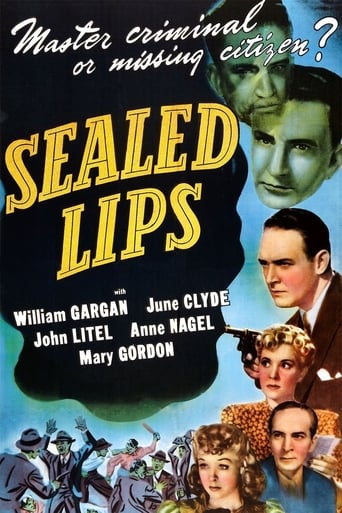 Poster of Sealed Lips