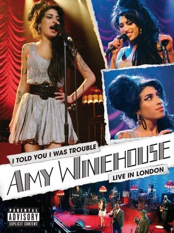 Watch Amy Winehouse - I Told You I Was Trouble (Live in London) Free Online Solarmovies