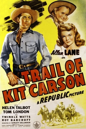 Poster of Trail of Kit Carson