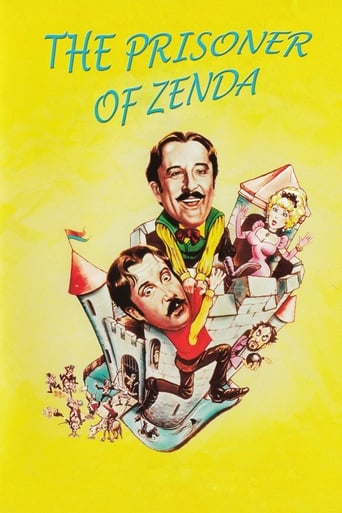 Poster of The Prisoner of Zenda
